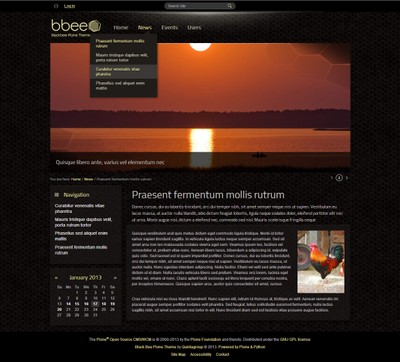 Black Bee Plone Theme