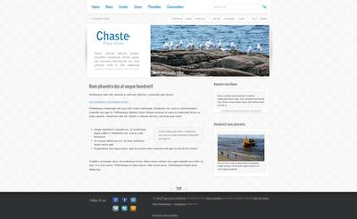 Chaste Plone Theme