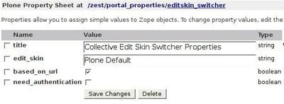 Editskin switcher