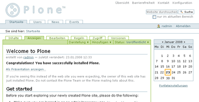 Plone Tableless