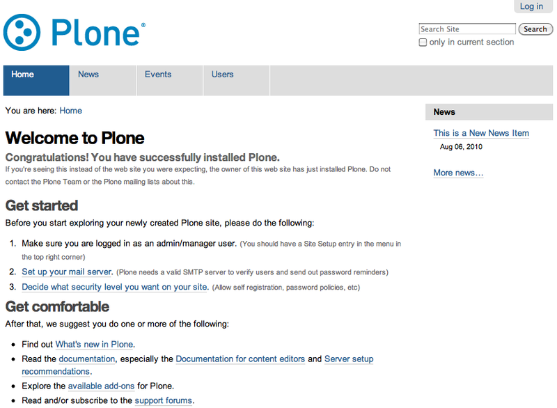 Plone — Open Source Content Management Software