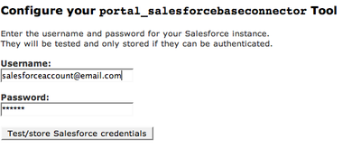 Salesforce Base Connector